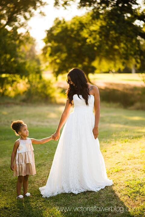 144d23f1038 A beautiful mama bride and her baby girl on wedding day and some beautiful  light!! Victoria Flower Photography www.victoriaflowerblog.com
