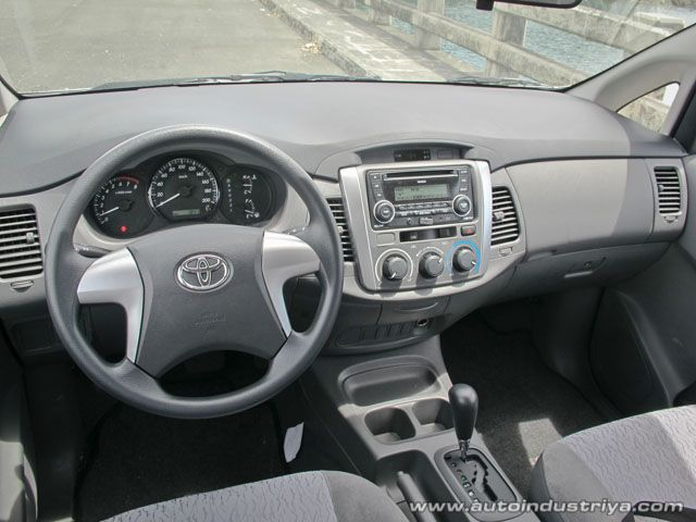 All New Kijang Innova 2.0 G Camry Vs Accord 2012 Toyota 2 0e Dashboard 2013
