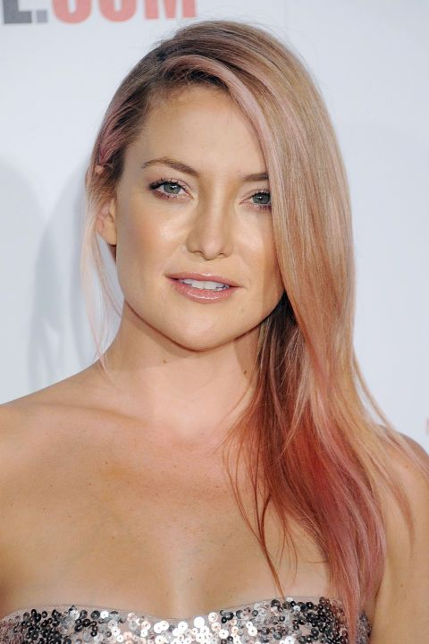 TheLIST Hair Colors of the Rainbow Hair color pink