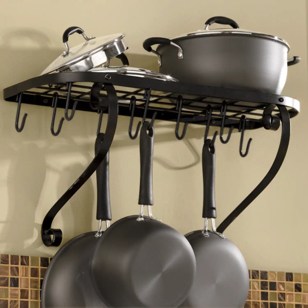 Wall Mount Bookshelf Pot Rack Montgomery Ward Pot Rack Hanging Wall Mounted Bookshelves Pot Rack