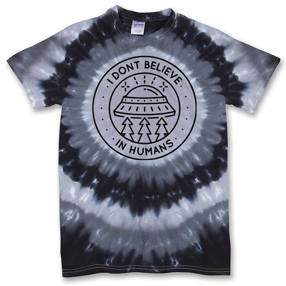 Shirts human design - I Don T Believe In Humans Black Eye Shirt