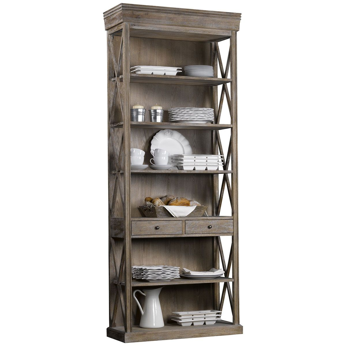 Curations Limited French Casement Bookcase 8810.0001