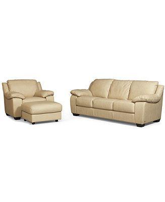 Blair 3 Piece Set Sofa Chair And