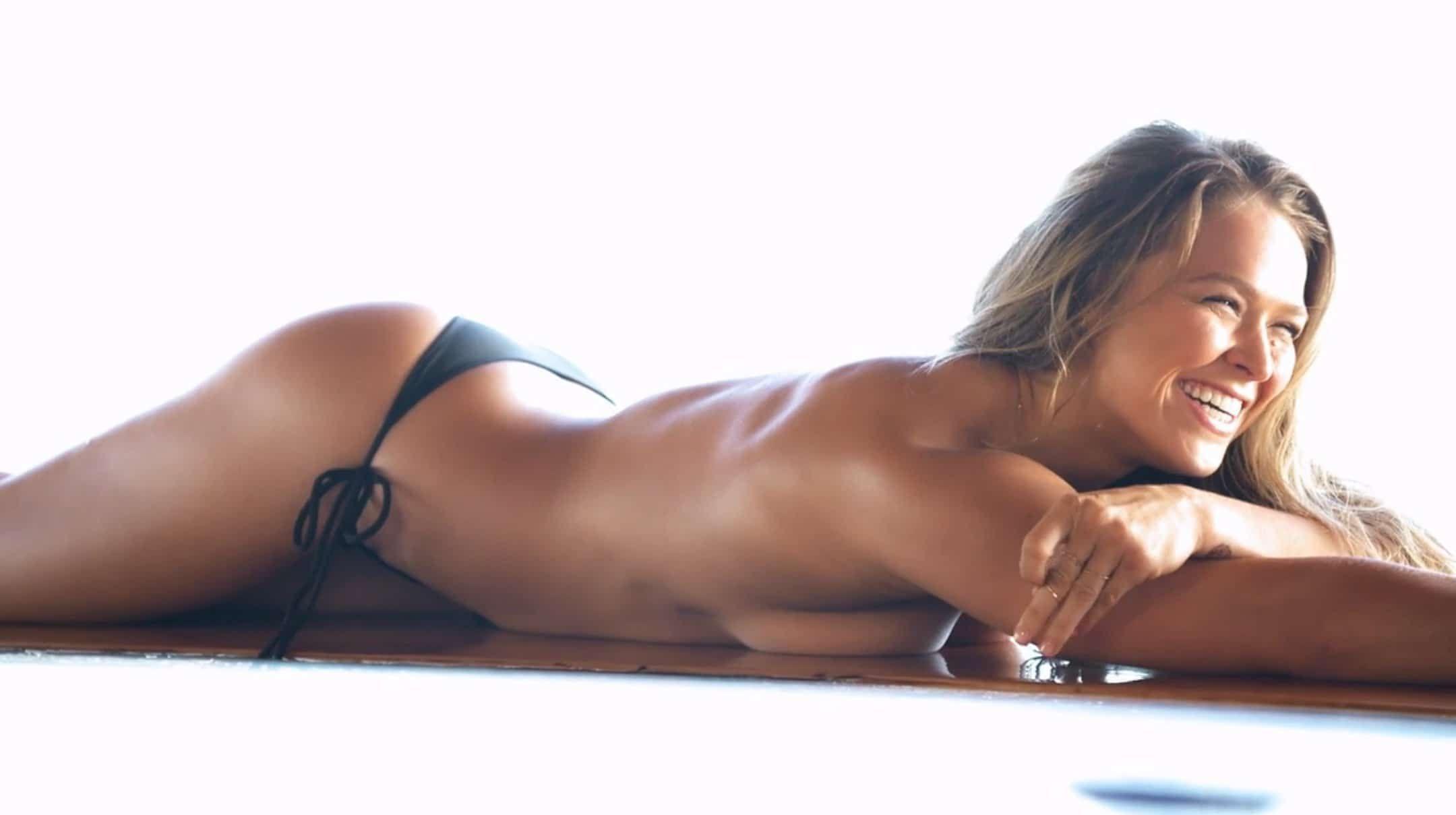 Kết quả hình ảnh cho ronda rousey wallpaper nude