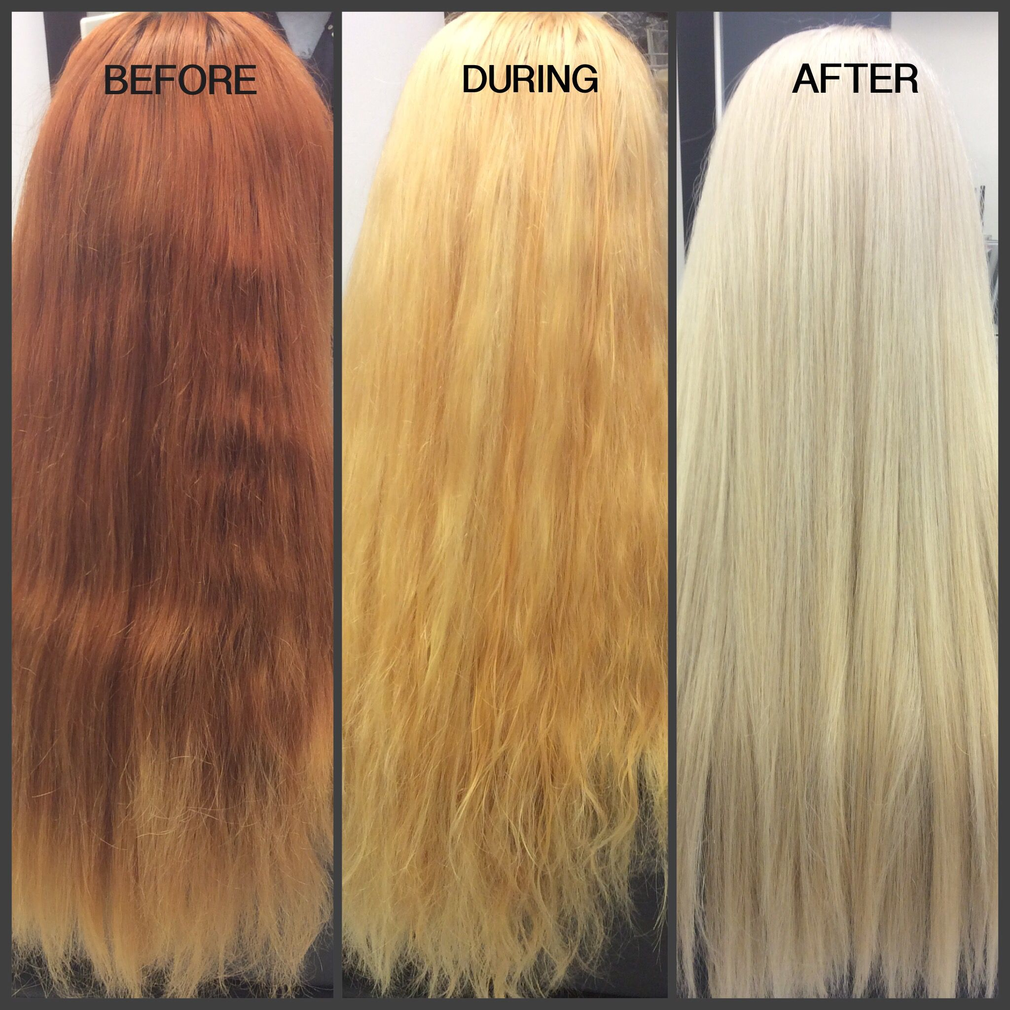 Best Hairstyle For Fine Curly Hair Color Correction Hair Red Blonde Hair Platinum Hair Color