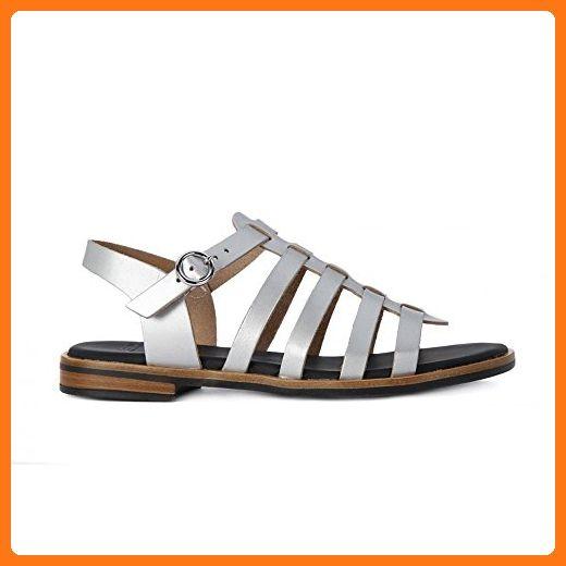 Frau - Satin Silver - 85S8 - Size: 39.0 oOEMz