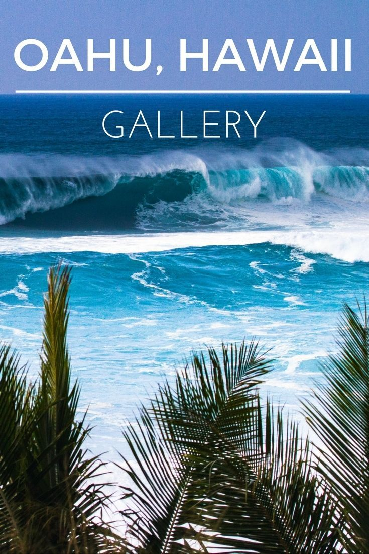 THE OAHU, HAWAII GALLERY 30  of our favorite photos from the beautiful island of Oahu on Hawaii.  #Hawaii #Oahu #Photography #Travel #Island #Discover #Roadtrip #Landscape #Ocean #Beach