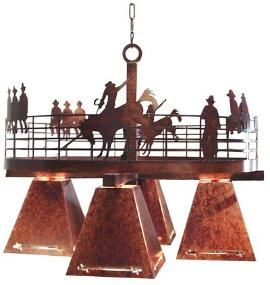 Western Style Light Fixtures Lighting