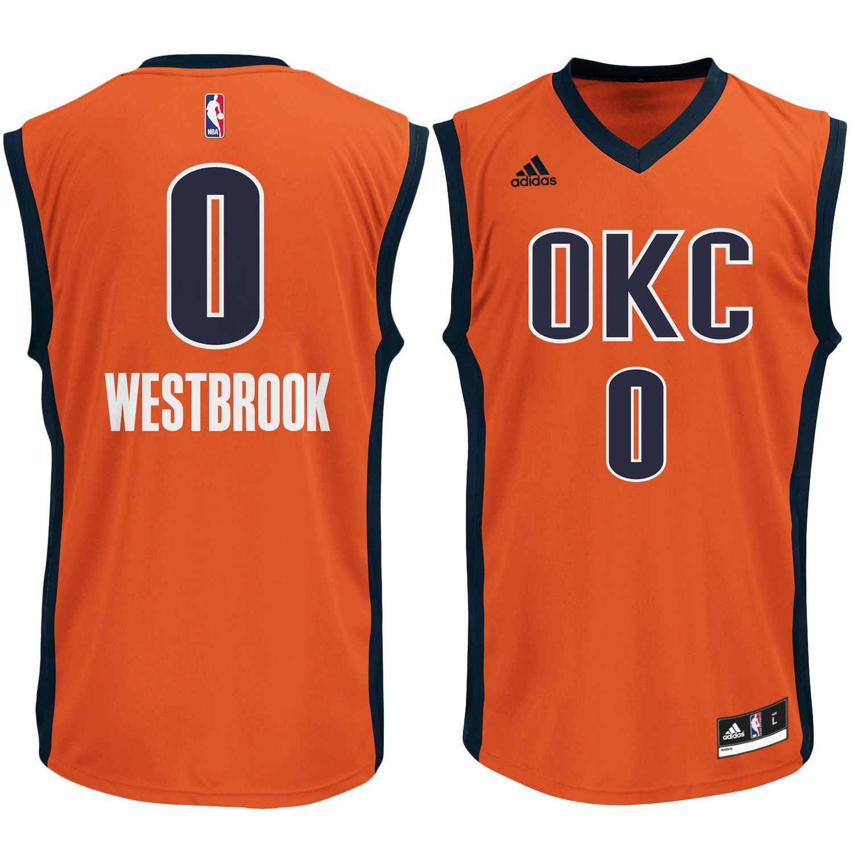 size 40 14818 856e7 Russell Westbrook Oklahoma City Thunder adidas Replica ...