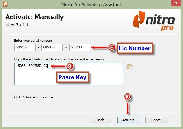 download activator nitro pro 10