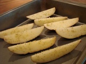Seasoned Potato Wedges Recipe {Jo Jo's}The Frugal Girls in Main Courses Sides, Recipes