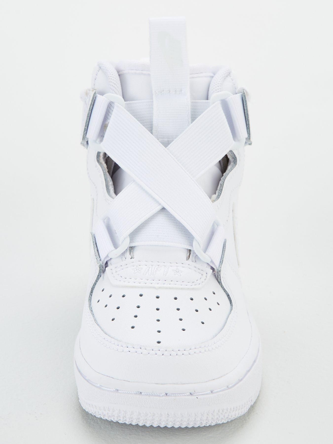 Nike Air Force 1 Highness Childrens Trainer White White