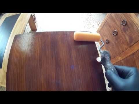 Barnizar A Goma Laca Facil Y Rapido Video Promocional Para Mis Cursos De Pago You Restaurar Muebles De Madera Como Pintar Madera Como Pintar Muebles Viejos