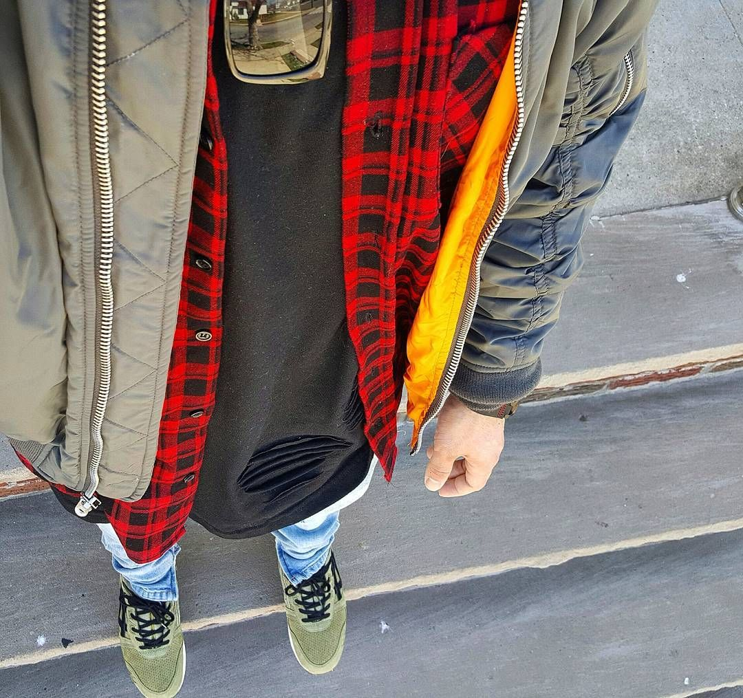 Red flannel shirt black jeans  Instagram IDdondraper  Guylook Customer Reviews  Pinterest