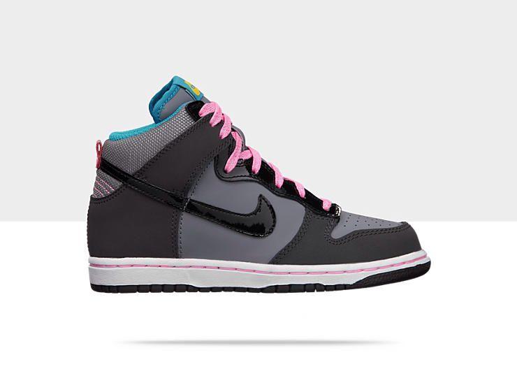 Girl Nike Dunks High | Nike shoes girls