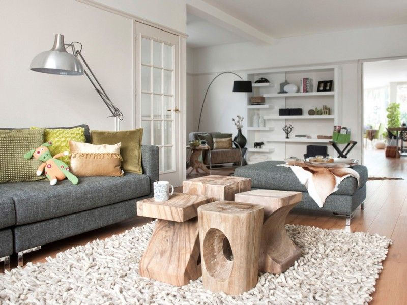 Outstanding Contemporary Living Room Timber Stools Coffee Table White Squirreltailoven Fun Painted Chair Ideas Images Squirreltailovenorg