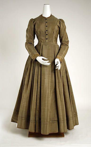 Ensemble (image 3) | American | 1870 | wool, silk | Metropolitan Museum of Art | Accession #: C.I.53.72.5a–d