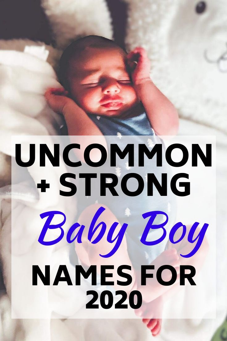 Uncommon Baby Boy Names