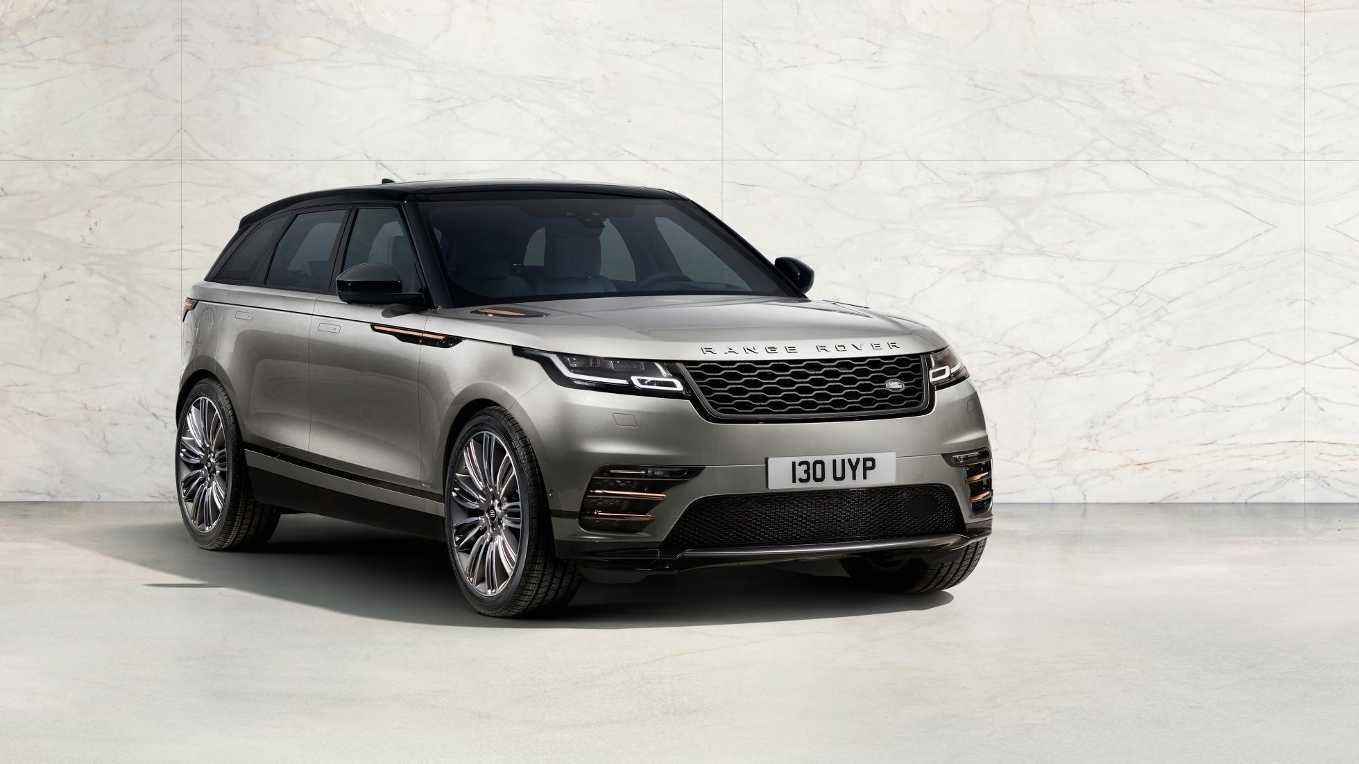 Official it's the new Range Rover Velar Range rover