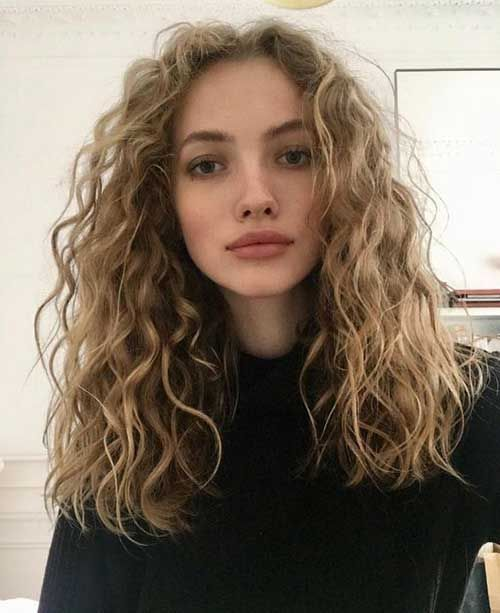 Wavy long hairstyles for a stylish look »Hairstyles 2019 New hairstyles and hair colors