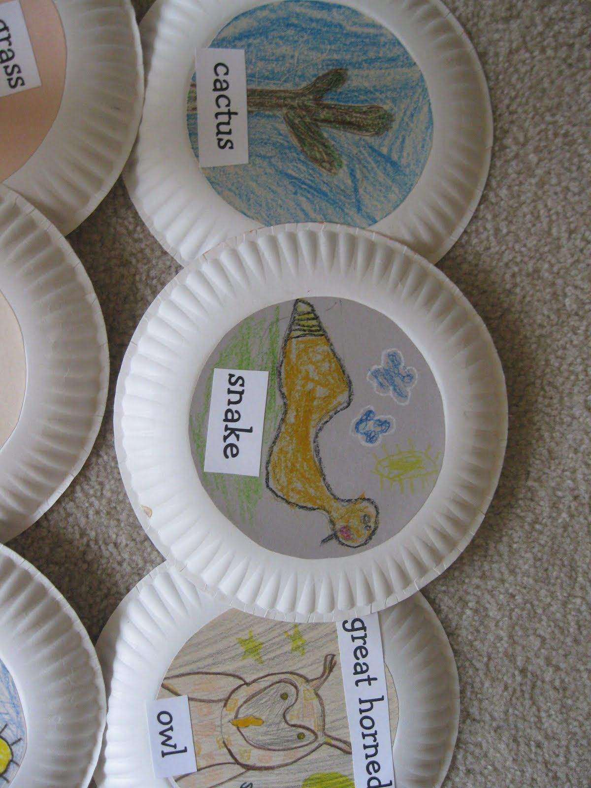 Food Chain Plates With Images