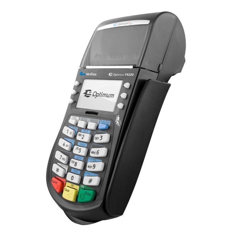 Alliance Bankcard Services Hypercom \/ Verifone Optimum T4220 - business credit card agreement