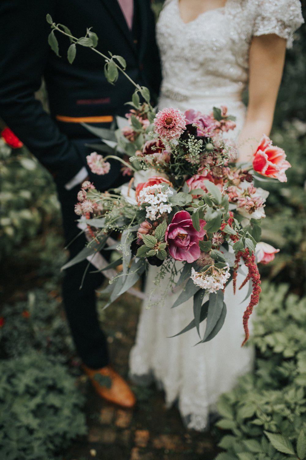 Wild Flower Bouquet Summer Wedding Bouquets Flower Bouquet