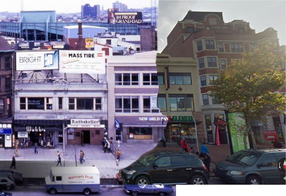 Then And Now The Rathskeller Eastern Standard In Kenmore Square South Boston Kenmore Square Kenmore