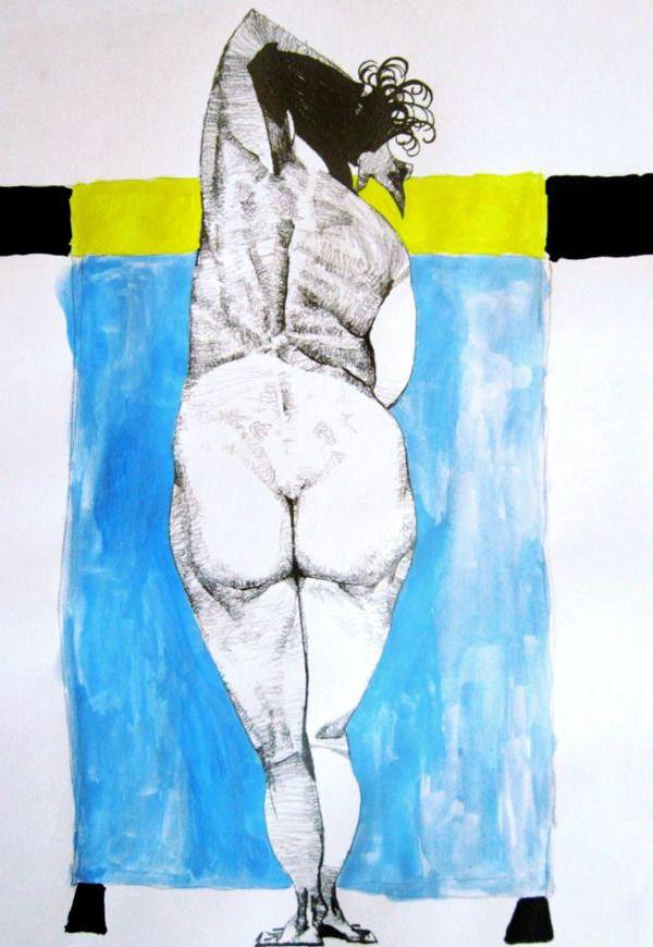 Female by Burak Dak, via Behance