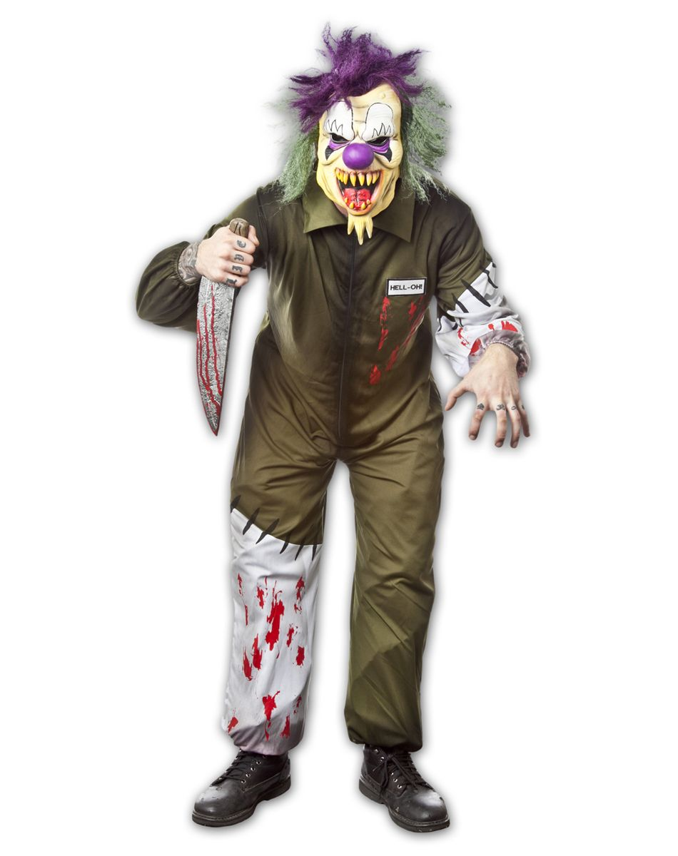 Killer Clown Adult Mens Costume | Halloween 2014 | Pinterest ...