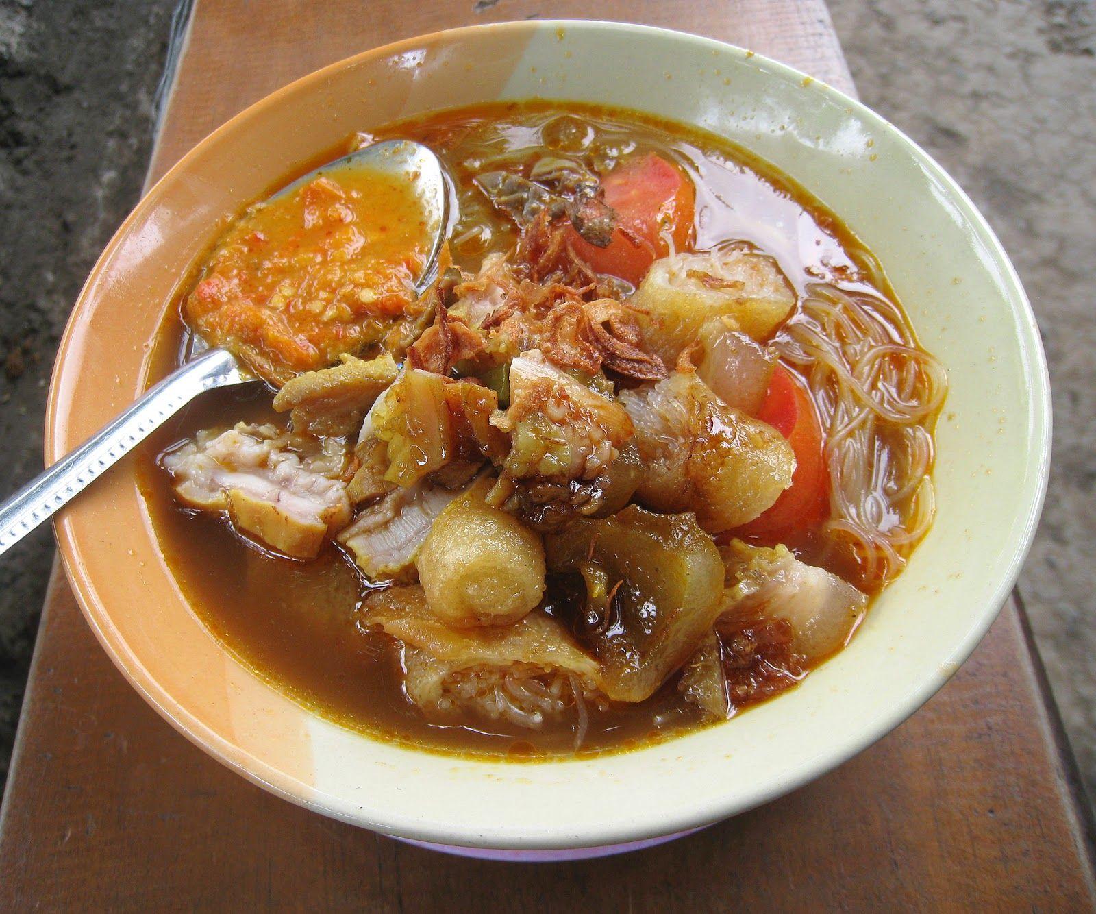 8 Makanan Tradisional Khas Bogor Soto Mie Bogor Makanan Pedas