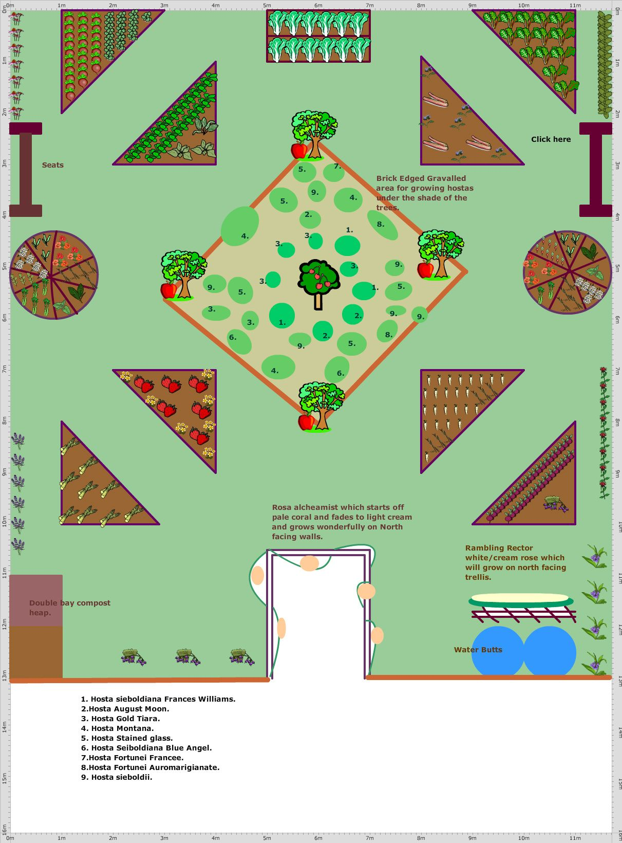 Garden Plan - 2018: Shade loving garden | Garden planning ...