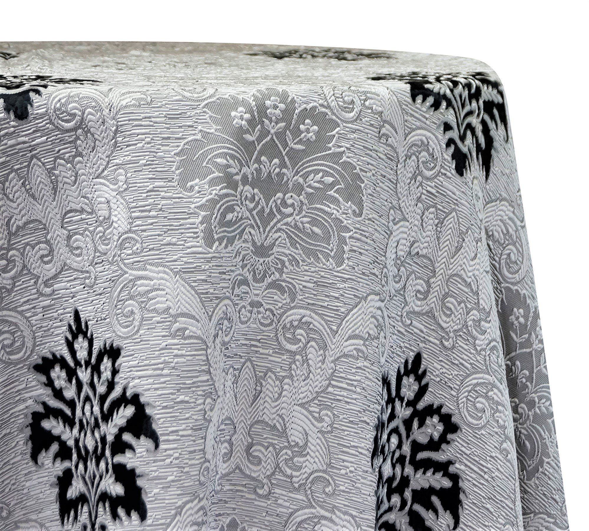Regency Damask Sheer Tablecloths Overlays Damask Wholesale