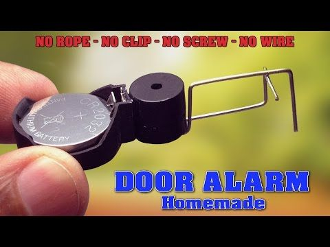 Diy Alarm Siren Simple Noise Maker Without Transistors Using Only A Speaker Youtube Door Alarms Diy Security Alarm