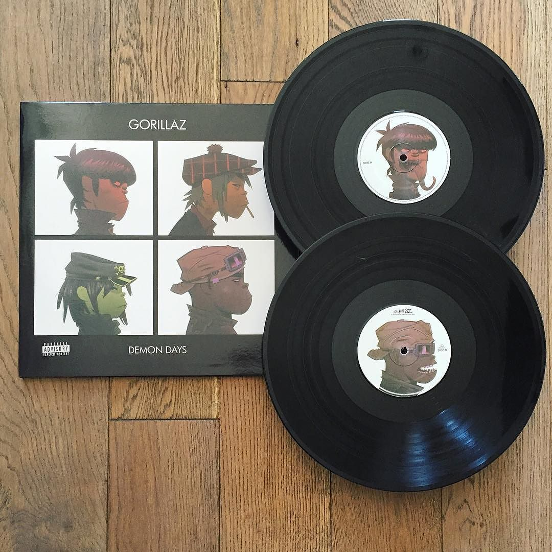 Instagram Photo By Pretty Vinyl Apr 23 2016 At 4 50pm Utc Vinyl Demon Days Gorillaz