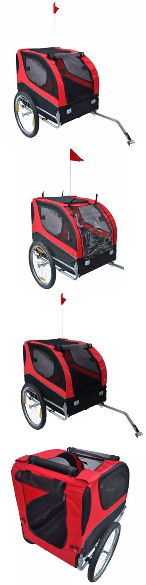 Bike baskets and trailers foldable bicycle pet carrier