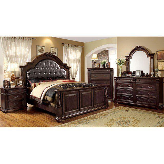 Furniture Of America Esperia 4 Piece Bedroom Set Las Vegas