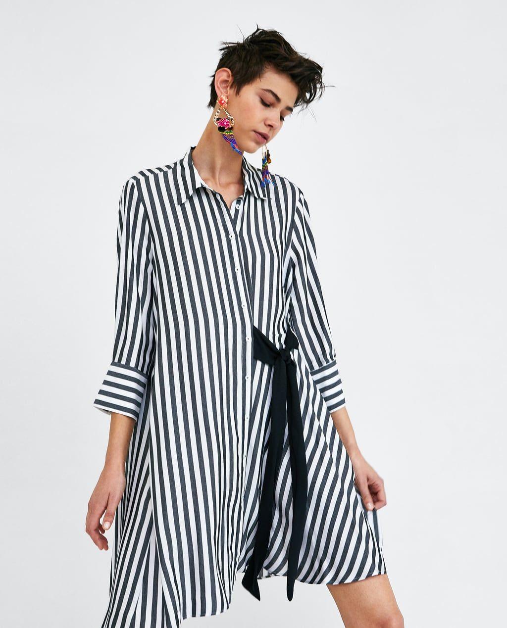 Lo Más Nuevo Para Mujer Nueva Colección Online Zara Estados Unidos Fashion Women Dress Online Shirt Dress