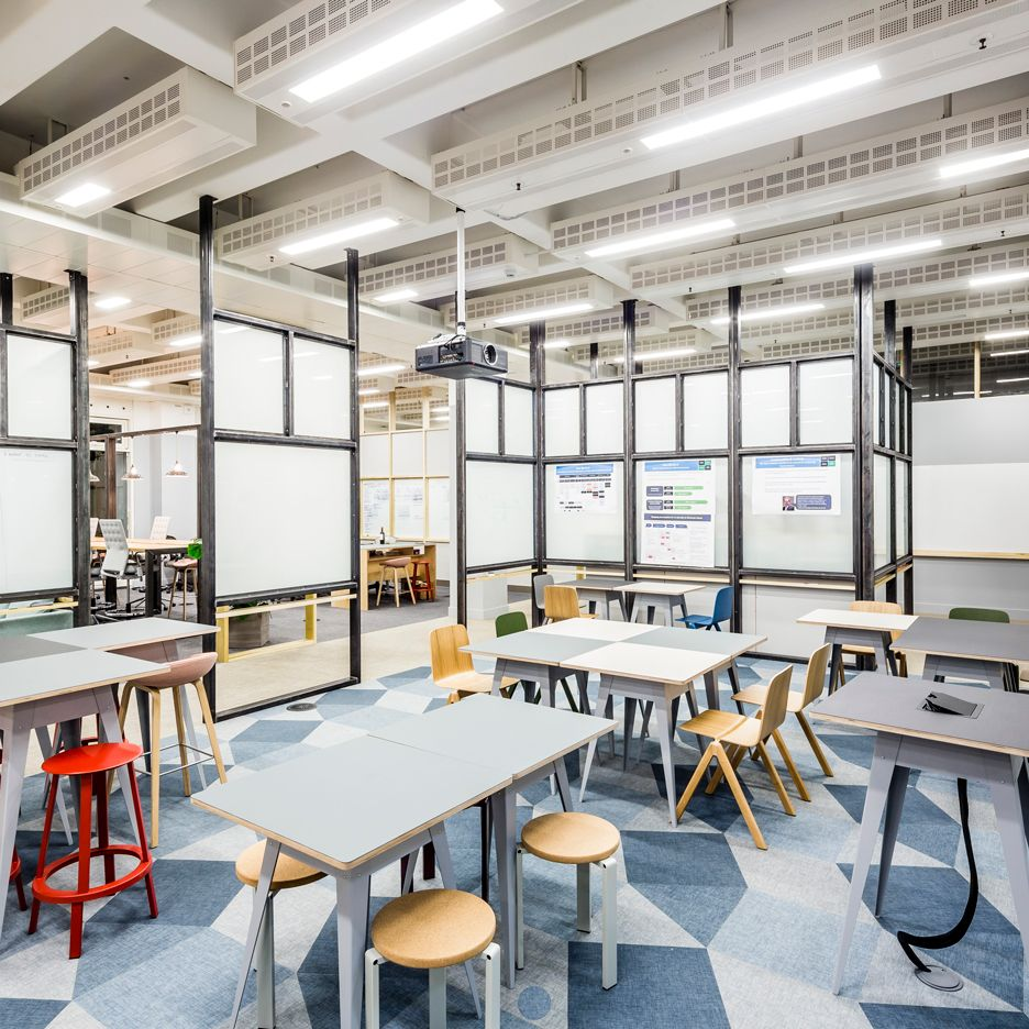 """APA designs """"raw and robust"""" collaborative office space ..."""