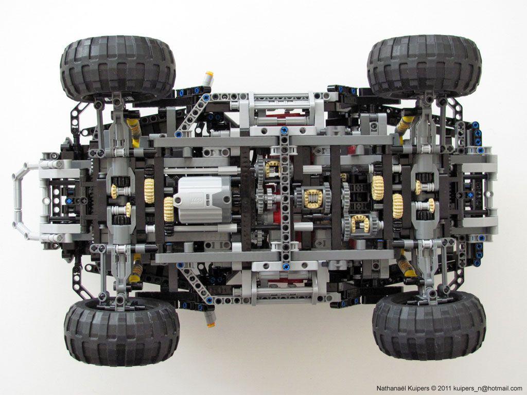 Jeep Hurricane Transmission Lego Gears Lego Technic Truck Lego