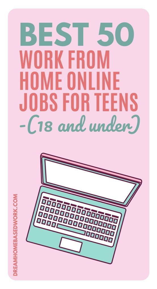 Parttime Jobs For Teenagers: Pin On Legitimate Work From Home Jobs For Stay At Home Moms