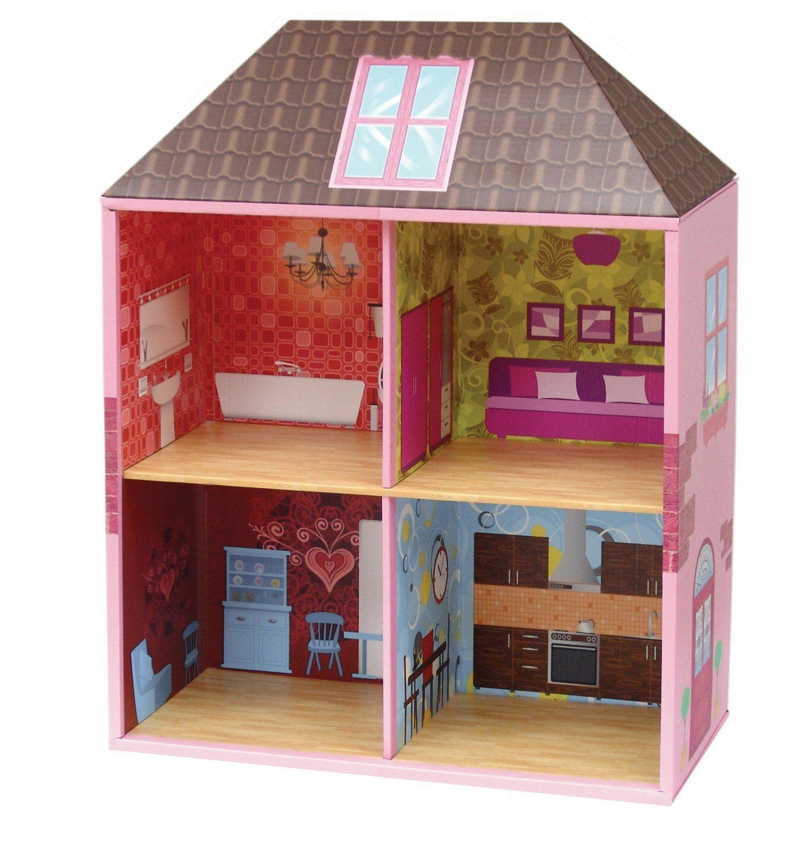 35 ideas para hacer una casita de mu ecas de vacaciones for Casa juguete jardin