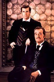 "James Garner & Mel Gibson - ""Maverick"" (1994) - Costume designer : April Ferry"