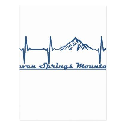 Seven Springs Mountain Resort  -  Seven Springs - Postcard - spring gifts beautiful diy spring time new year