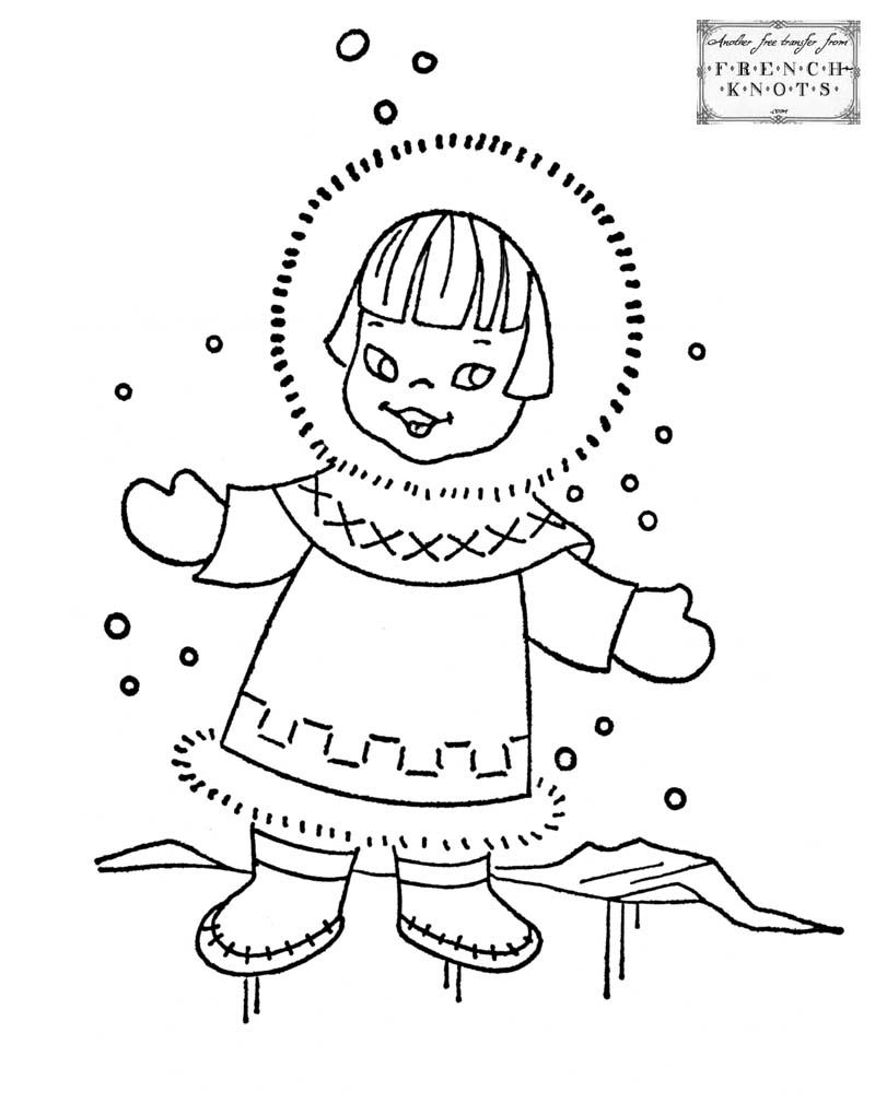 People Embroidery Patterns | Ханты | Pinterest | Girls, Embroidery ...