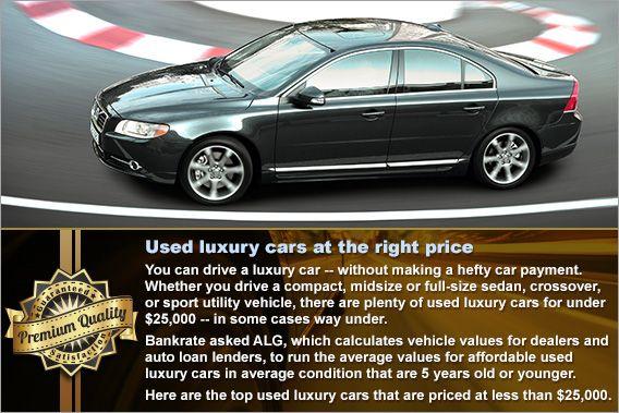 Top 6 Used Luxury Cars Under 25 000 Used Luxury Cars Luxury Cars Used Suv