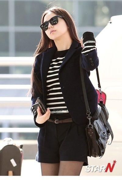 wonder girls sohee korean stars airport fashion