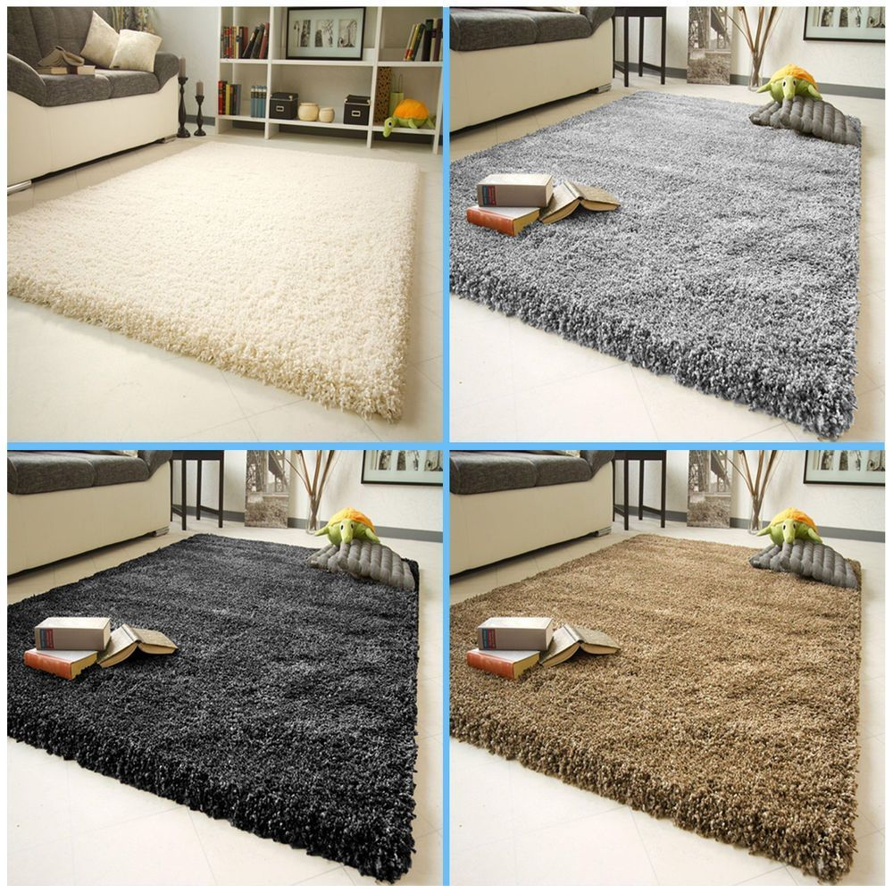 Details About X Large Fluffy Plain Small Thick Modern 5cm Shaggy Rug Non Shad Floor Carpet Ma 5cm Carpet Details Floor Fluffy In 2020 Shaggy Rug Rugs Diy Carpet