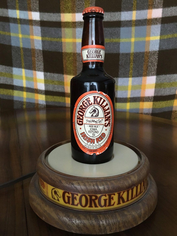 Retro #George Killian's #Irish Red Bottle Glorifier bar #display,  View more on the LINK: http://www.zeppy.io/product/gb/3/266680534/