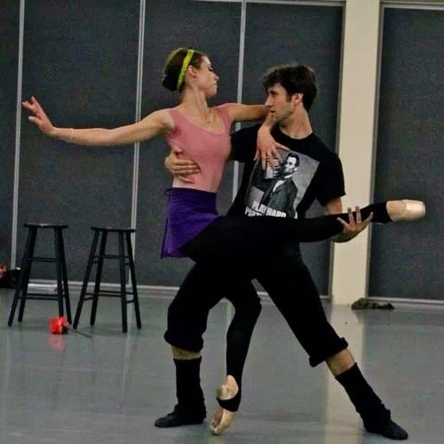 Jack Stewart And Kate Kadow In Rehearsal For Robert Sund S Taming